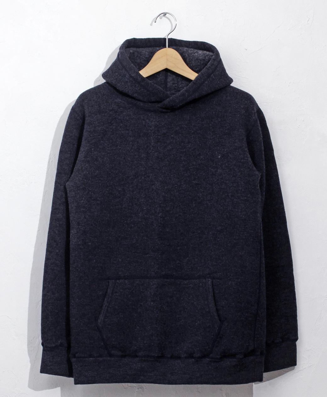yetina pullover hoodie(Iron Navy)