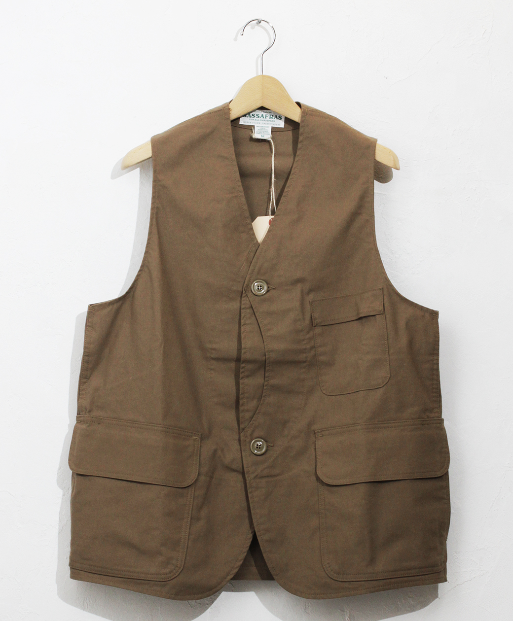 SASSAFRAS Garden Tough Vest(C/N Duck)