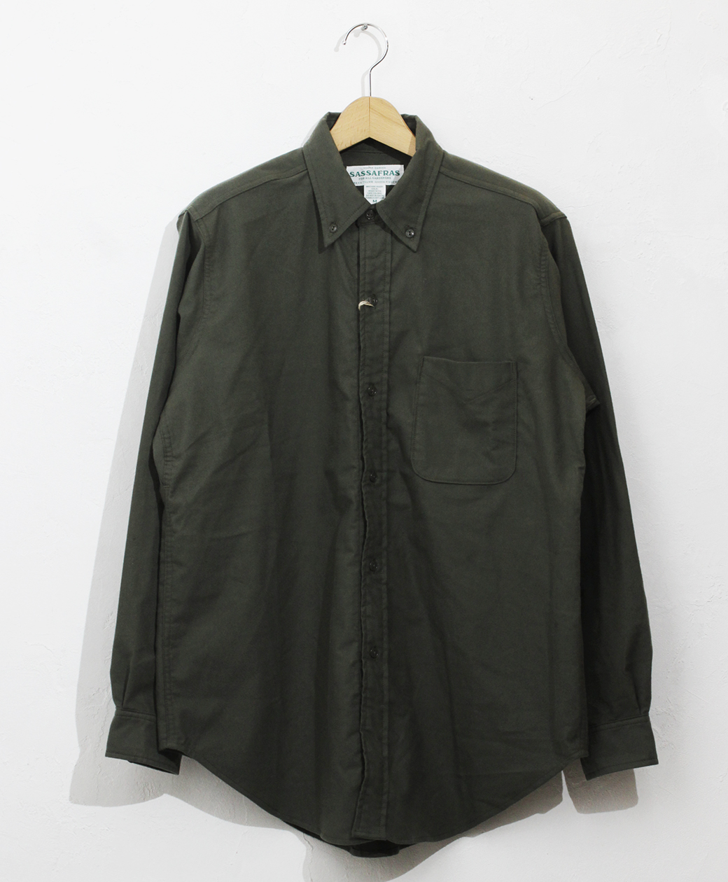 SASSAFRAS Green Thumb Shirt(Flannel)