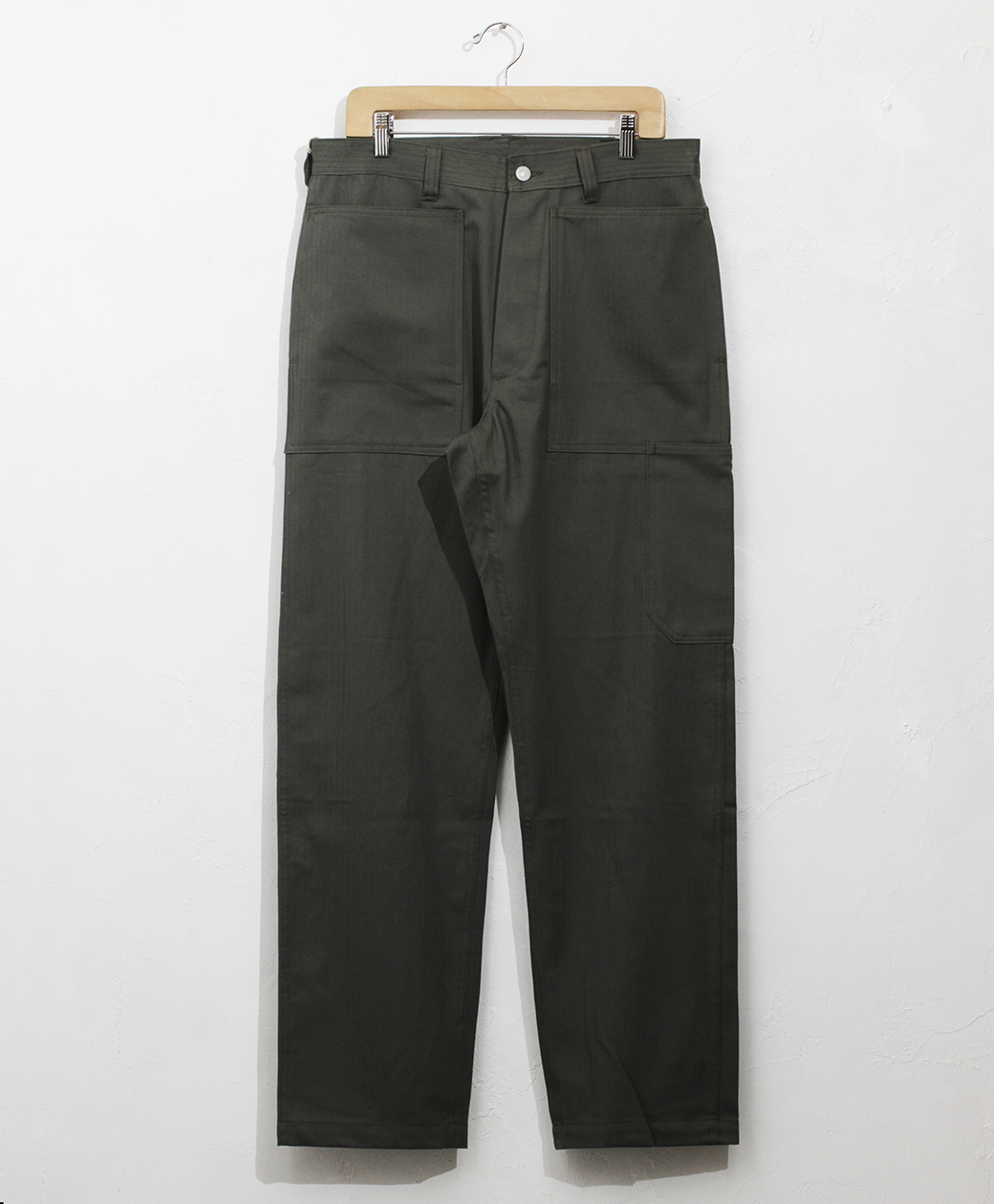 SASSAFRAS Transplant Pants(Herrinbone)