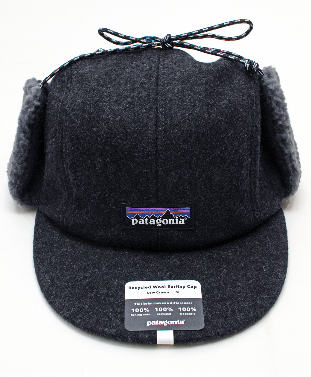 patagonia Recycled Wool  Ear Flap Cap(FGE)