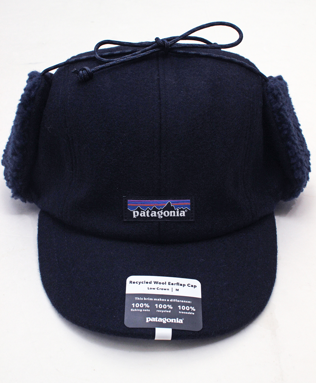 patagonia Recycled Wool  Ear Flap Cap(CNY)