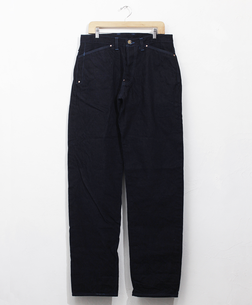 TENDER Co. 【10TH Anniversary LIMITED EDTION】TYPE 132 WIDE JEANS WITH PEN POCKETS WOAD