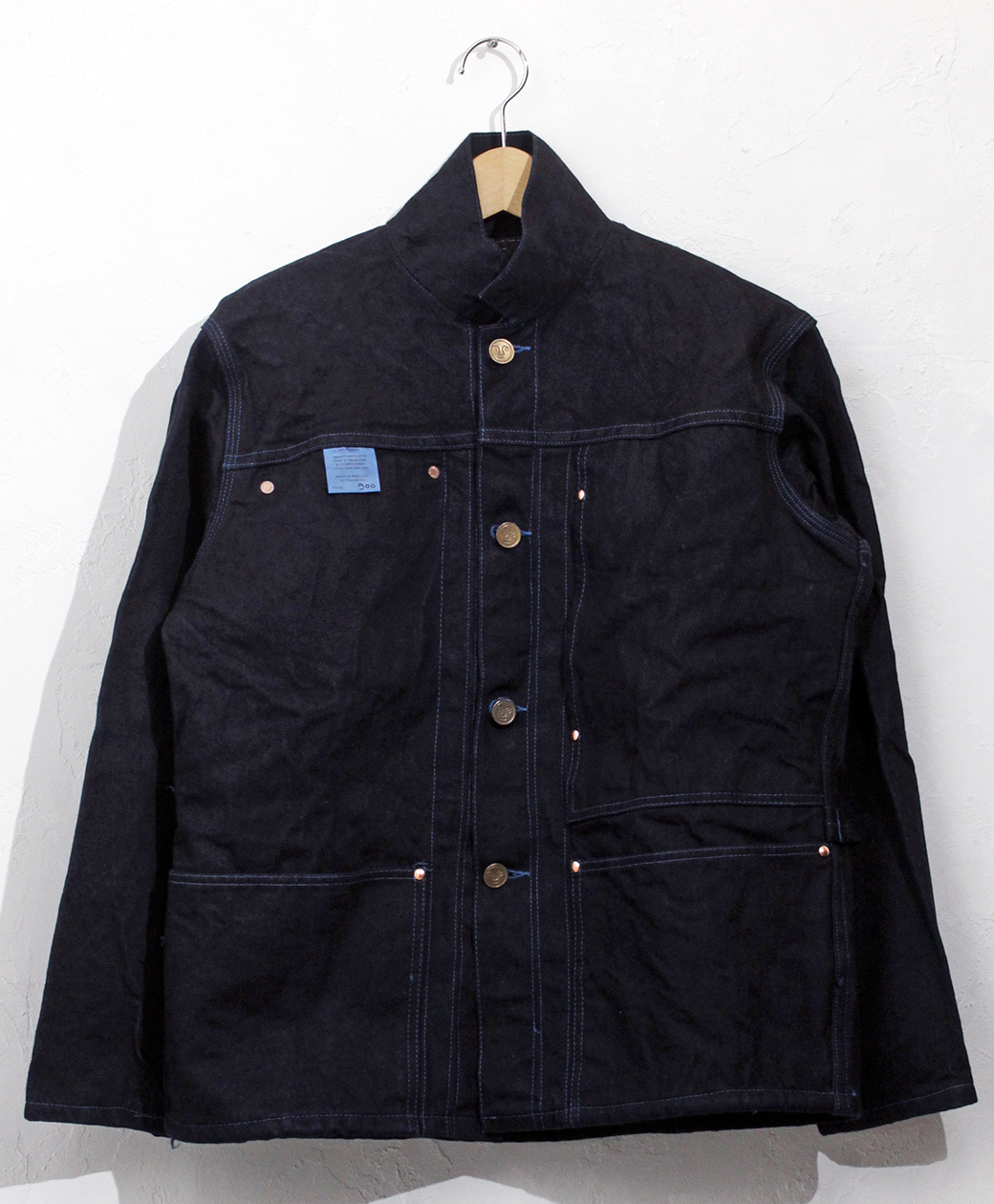 TENDER Co. 【10TH Anniversary LIMITED EDTION】TYPE 900 DONEGAL BLANKET LINED JACKET WORD DENIM