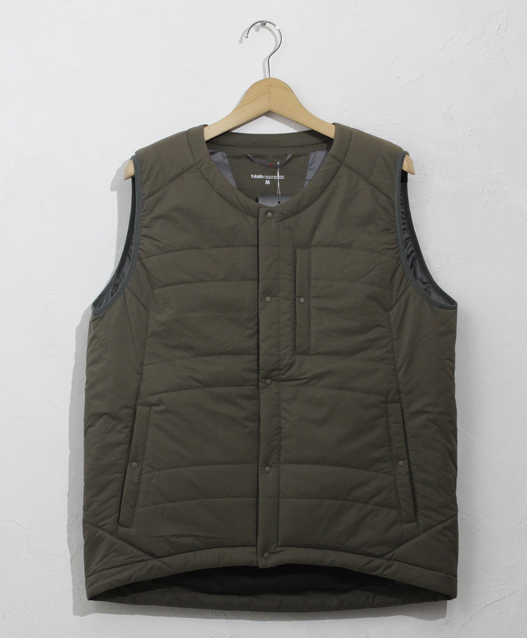 ※1月24日(日)まで!! 2020AW COLLECTION SALE !! tilak POUTNIK by tilak PYGMY Vest(Khaki)