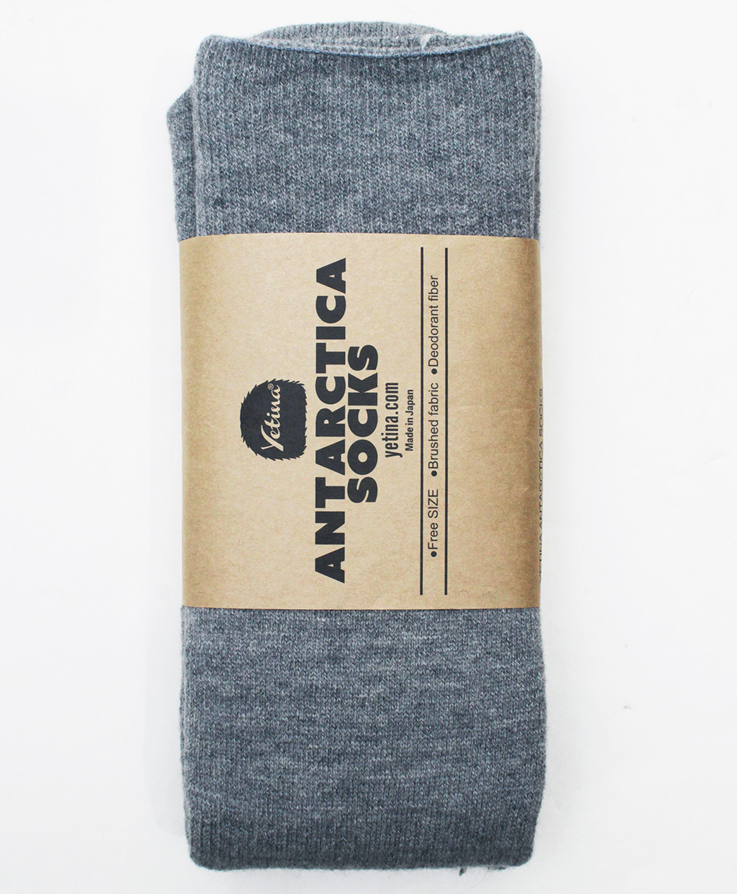 yetina Antarctica Socks(frosty gray)