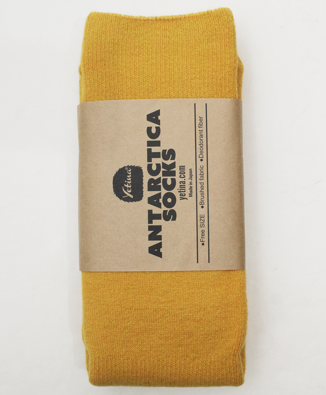 yetina Antarctica Socks(chrome yellow)