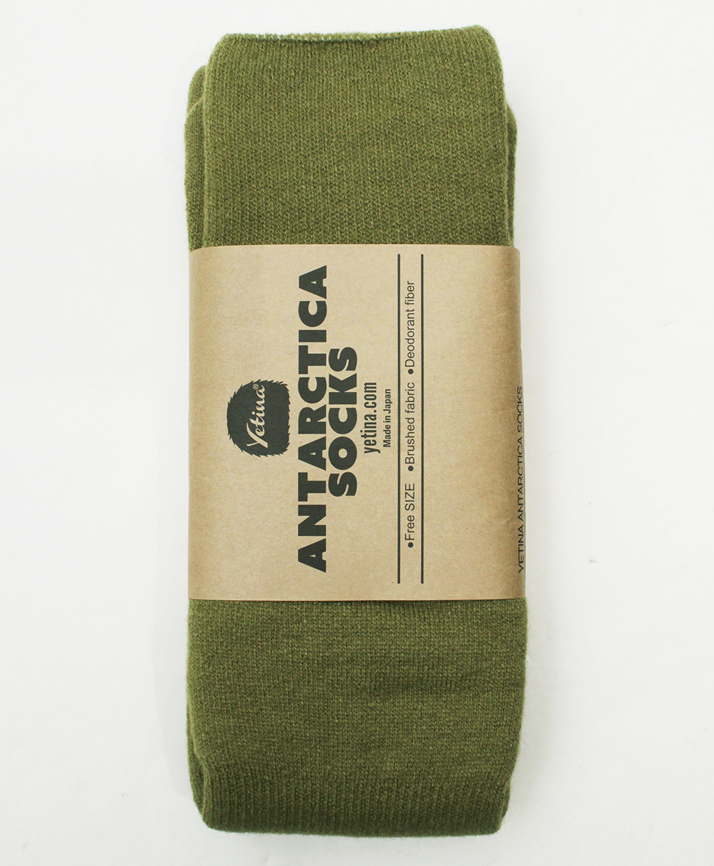 yetina Antarctica Socks(tea green)