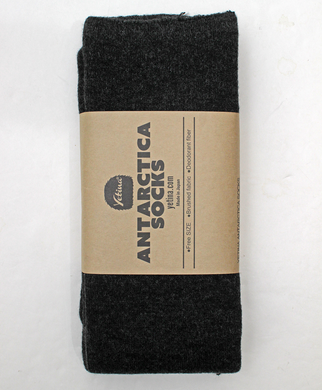 yetina Antarctica Socks(carbon black)