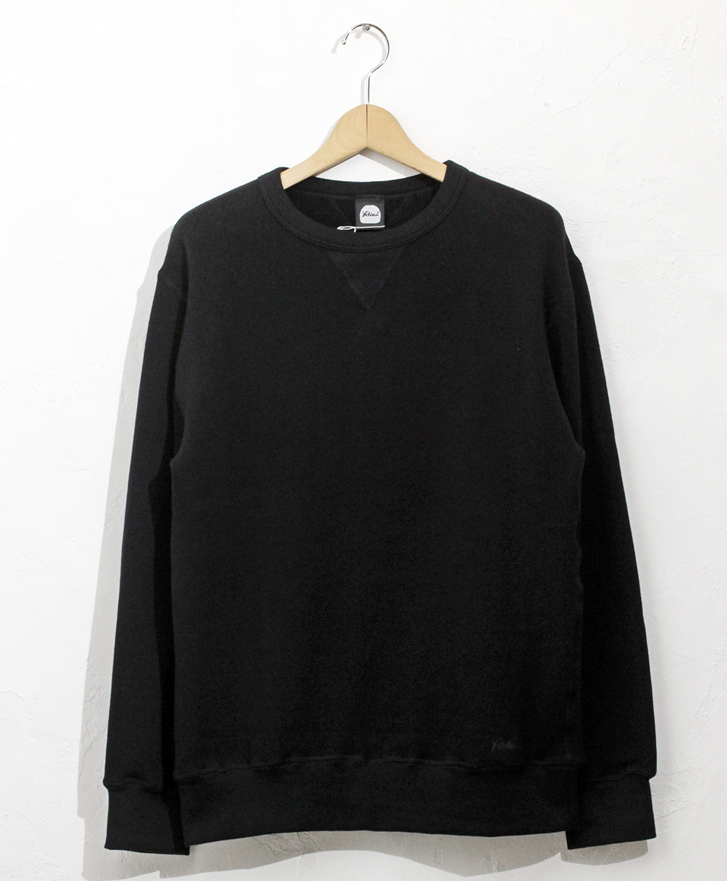 yetina Allseason cotton sweat shirt(black)
