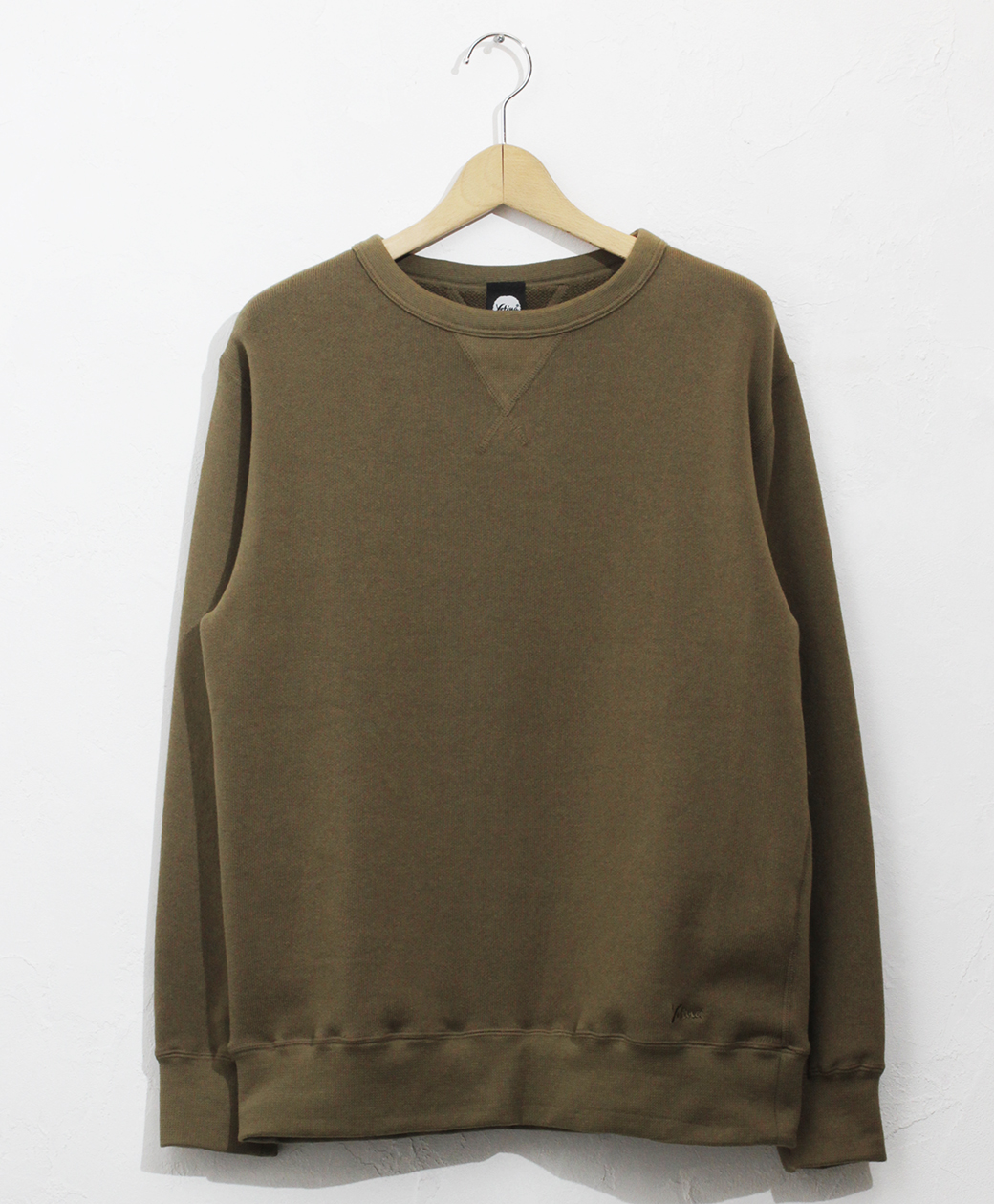 yetina Allseason cotton sweat shirt(dark olive)