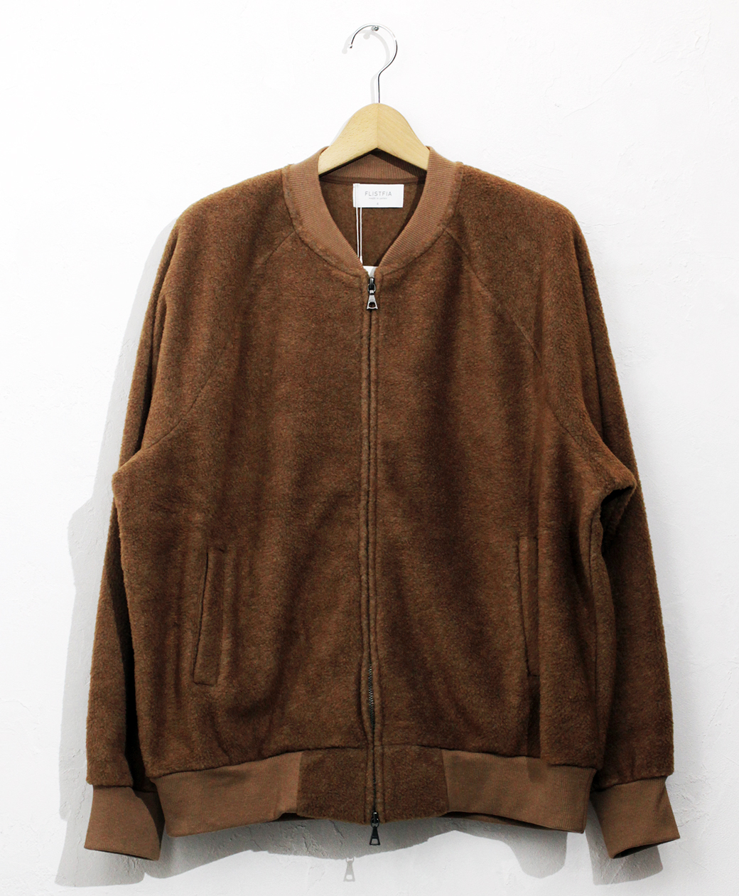 2020AW COLLECTION SALE !! flistfia Flight Jacket(Camel)