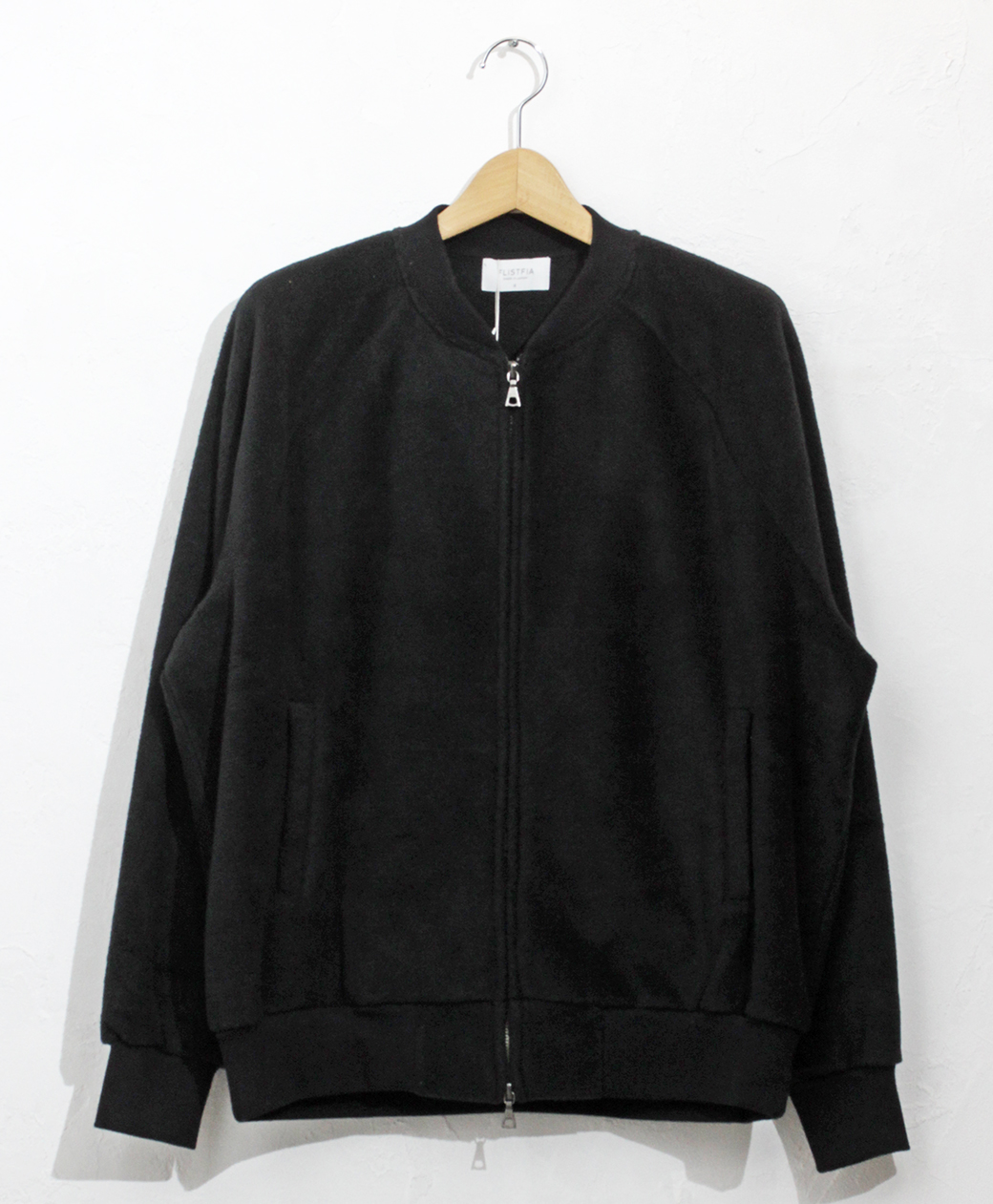 2020AW COLLECTION SALE !! flistfia Flight Jacket(Black)