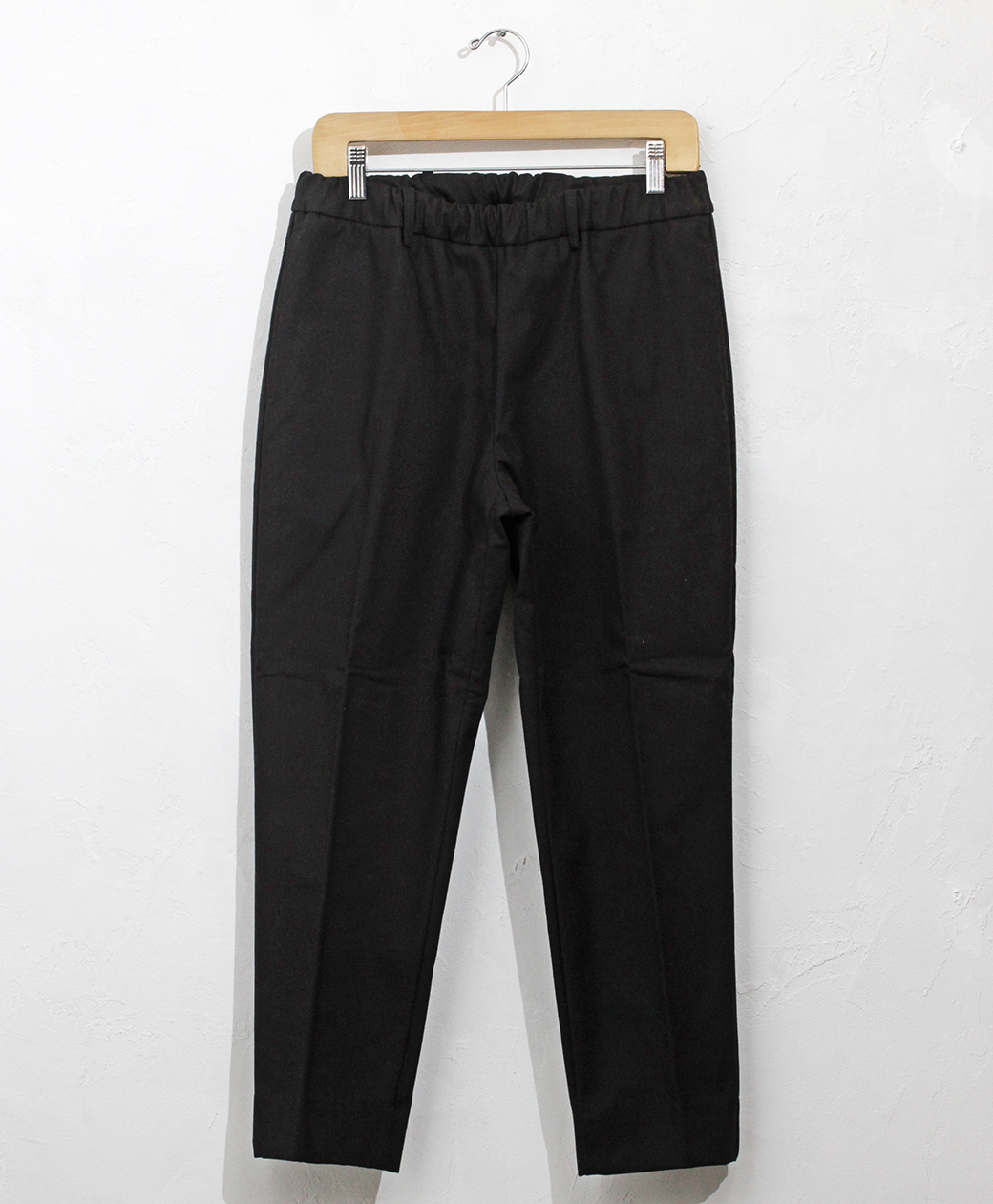 ※1月24日(日)まで!! 2020AW COLLECTION SALE !! flistfia Belted Trousers(Black×Charcoal)