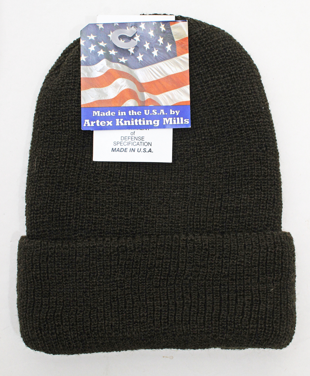 Artex Knitting Mills WATCH CAP(Olive)