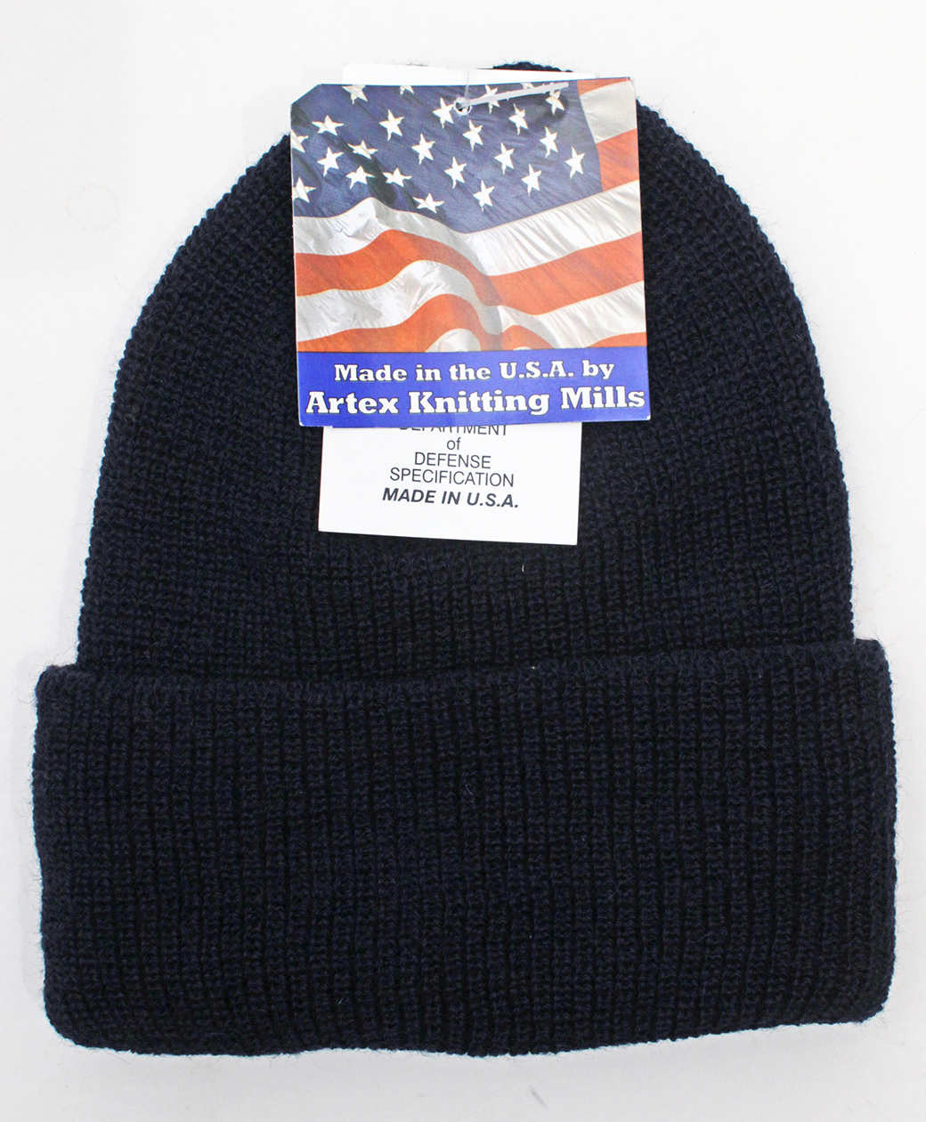 Artex Knitting Mills ※1月24日(日)まで!! 2020AW COLLECTION SALE !! WATCH CAP(Navy)