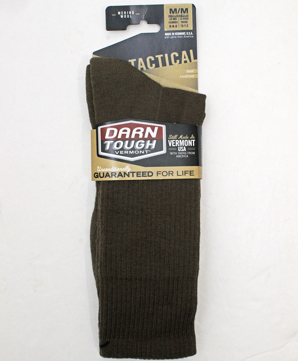 DARN TOUGH VERMONT Tactical Boot Cushion(COYOTE BROWN)