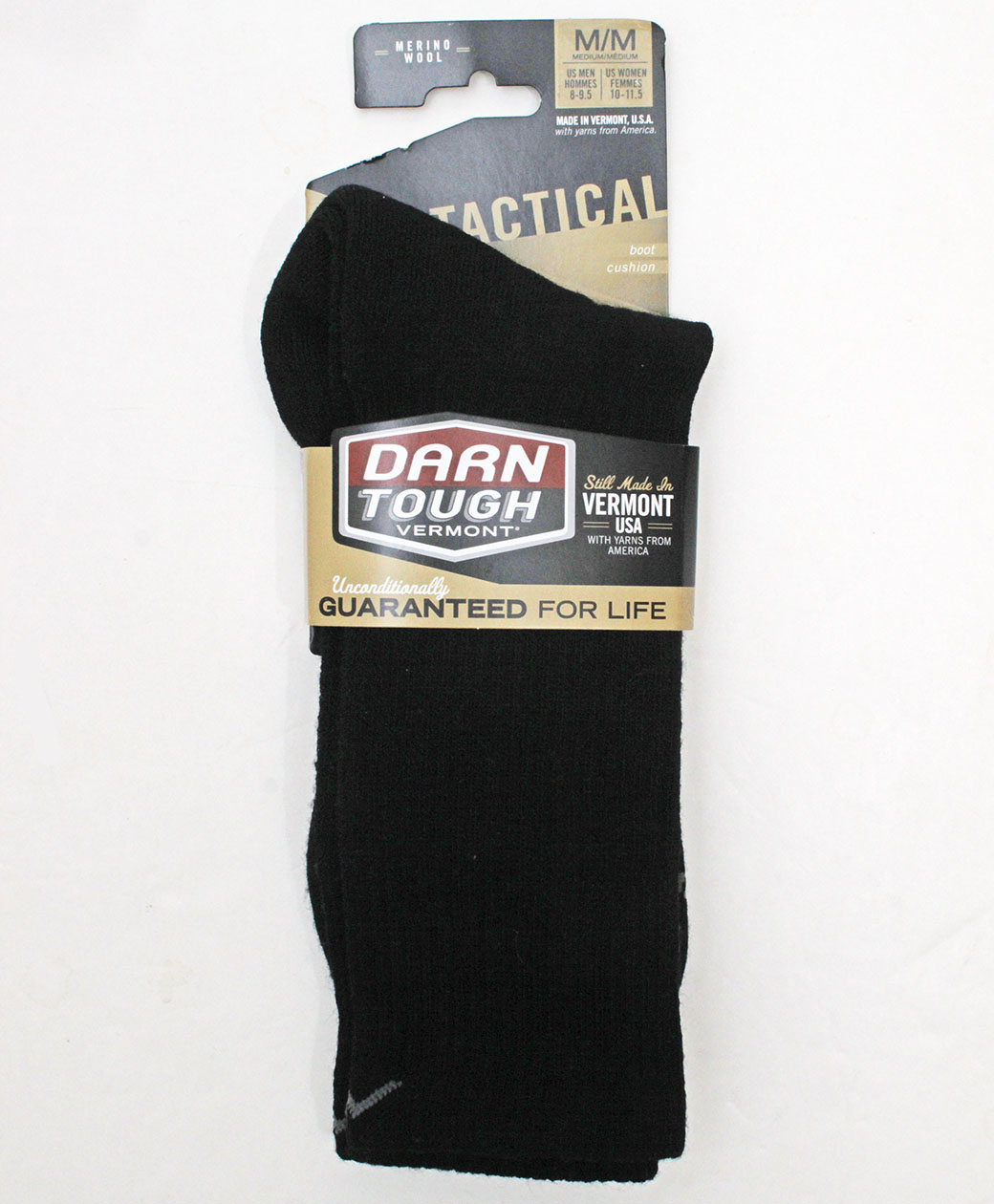 DARN TOUGH VERMONT Tactical Boot Cushion(BLACK)