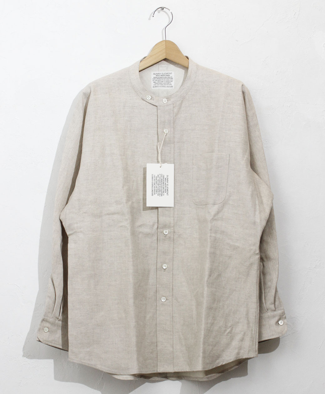 SUNNY ELEMENT Park Shirt(Beige)