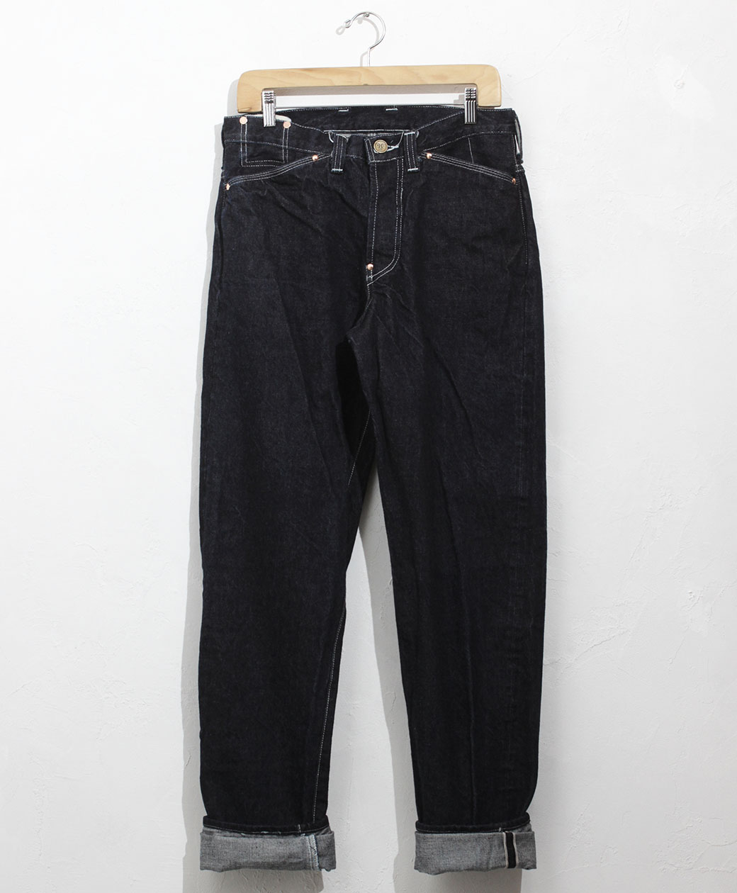 TENDER Co. TYPE 130 TAPERED JEANS 16oz SELVAGE DENIM