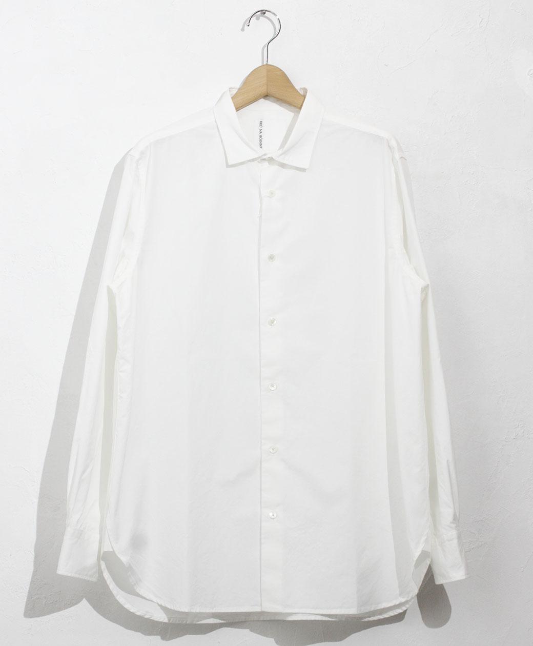 BRU NA BOINNE くしゅっとSPシャツ(ホワイト)