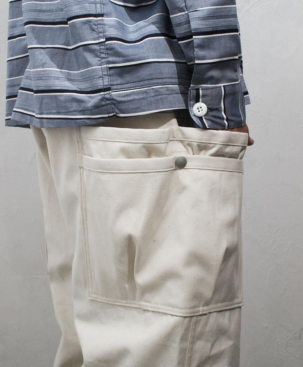SASSAFRAS Overgrown Pants(Canvas)