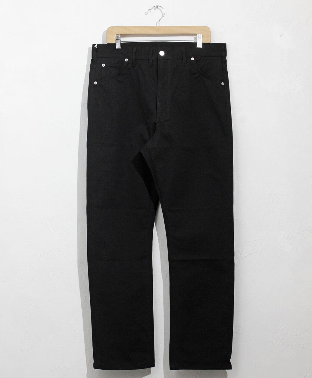 TUKI cowboy pants(black)
