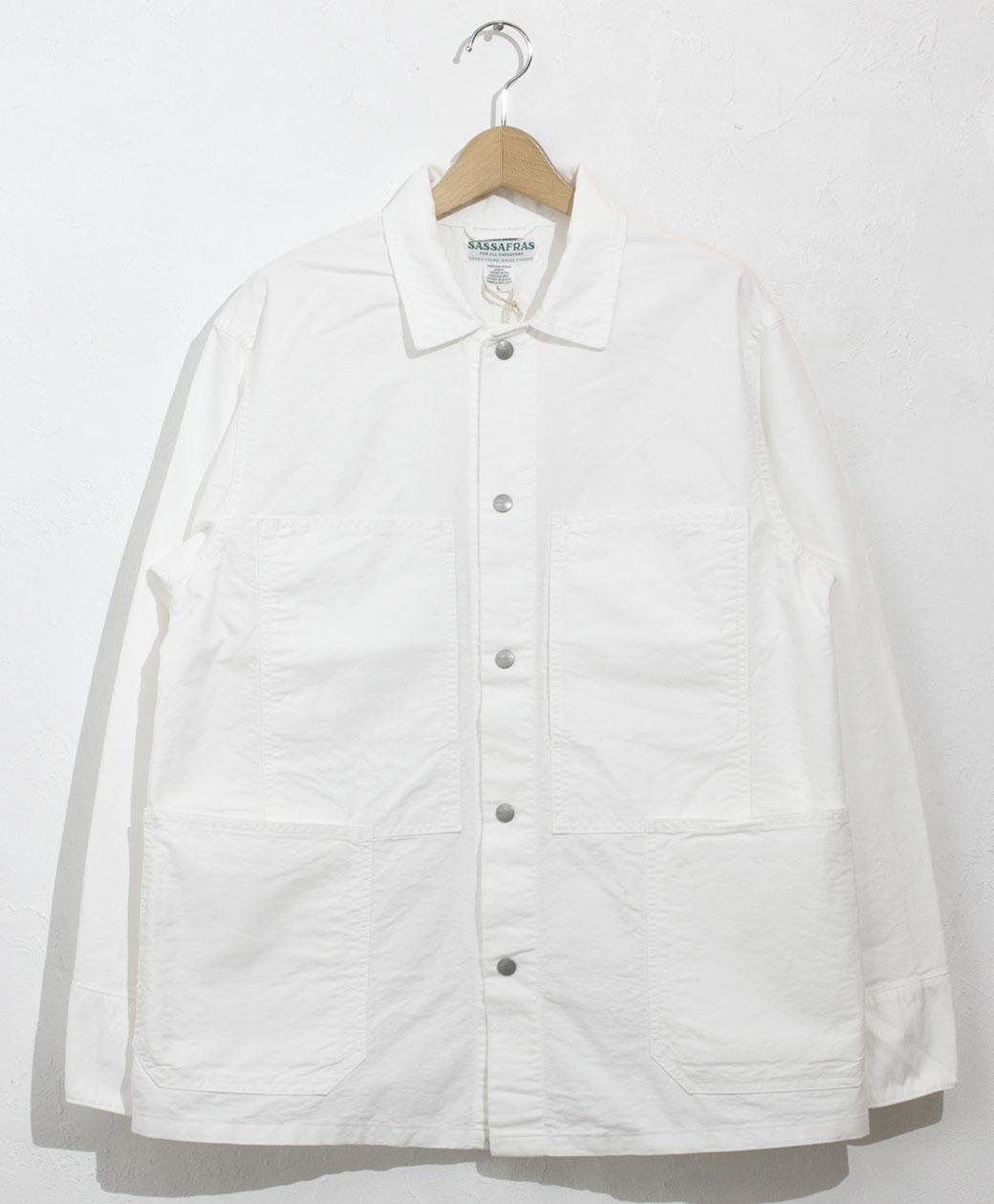 SASSAFRAS Transplant Jacket(Oxford)