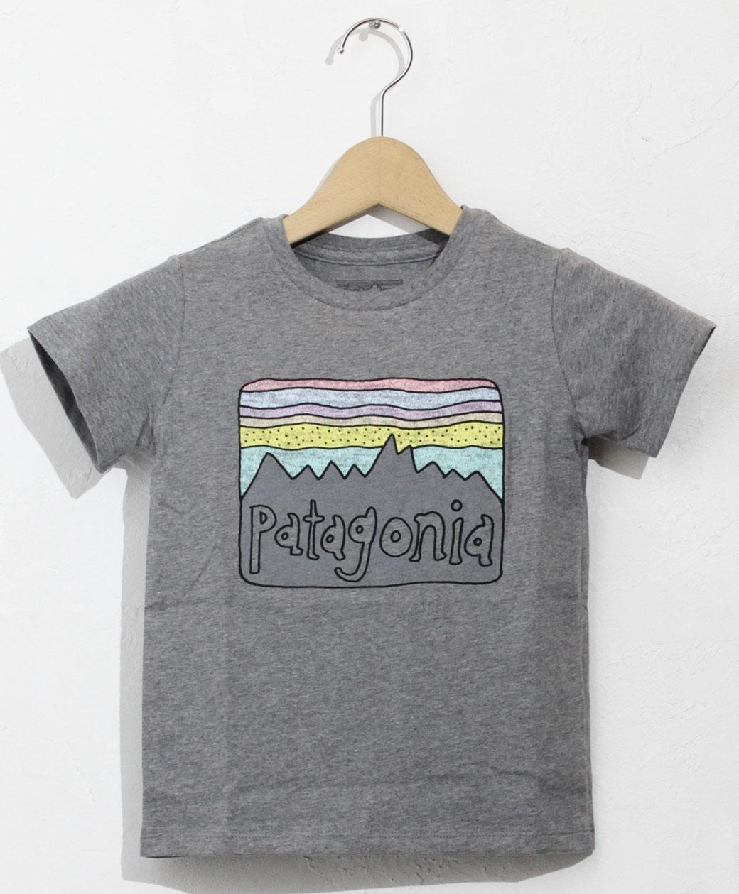 patagonia BABY FITZ ROY SKIES ORGANIC T-SHIRT(GLH)