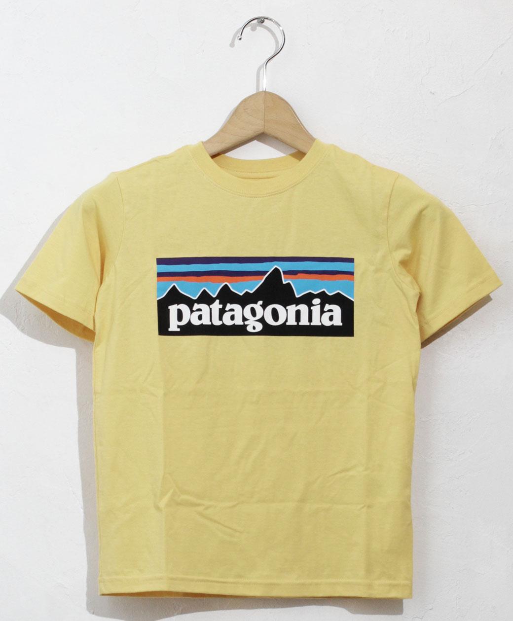 patagonia BOYS P-6 LOGO ORGANIC T-SHIRT(SUYE)