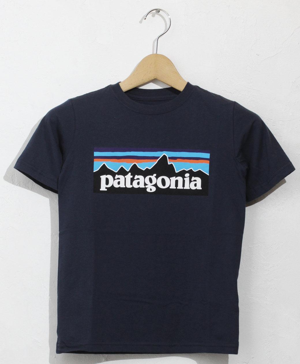 patagonia BOYS P-6 LOGO ORGANIC T-SHIRT(NENA)