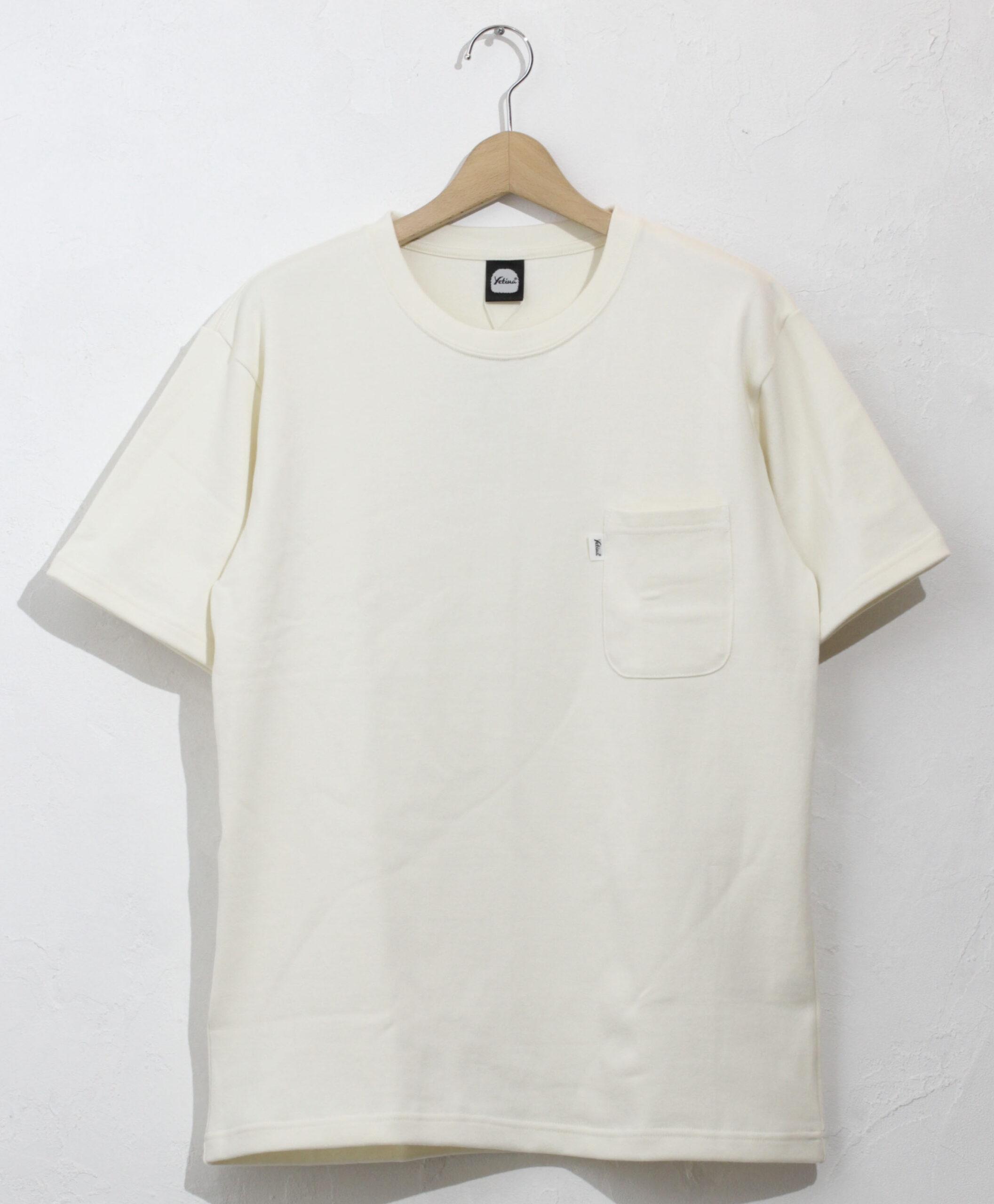 yetina heavy weight cotton pocket T-shirt(cottage)