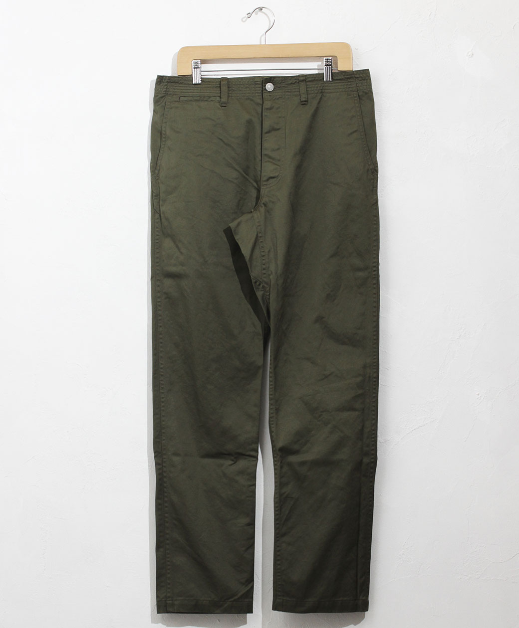 SASSAFRAS Sprayer Pants(Giza Cotton West Point)