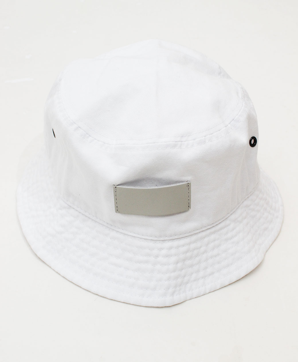 hobo COTTON TWILL BUCKET HAT(WHITE)