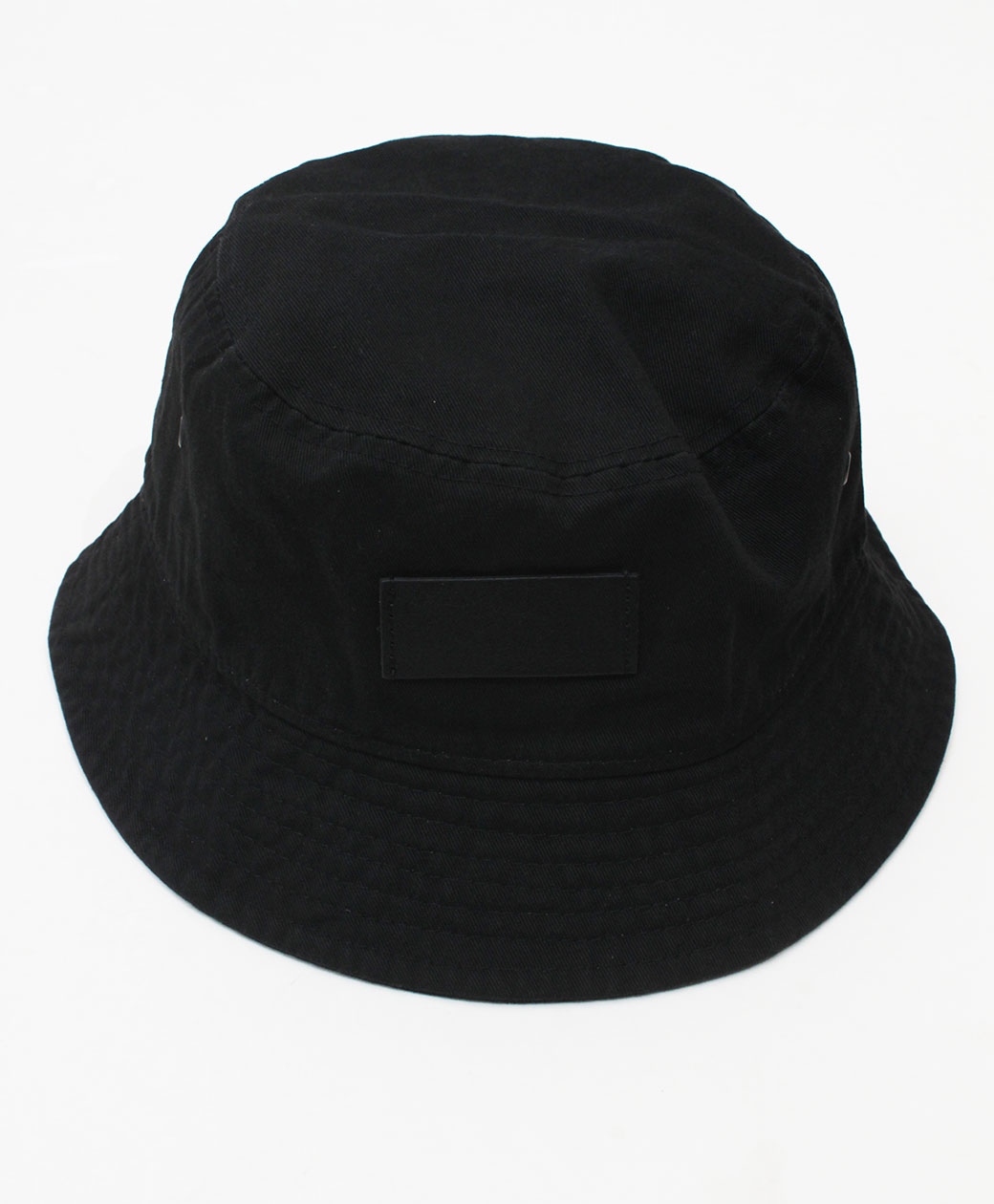 hobo COTTON TWILL BUCKET HAT(BLACK)