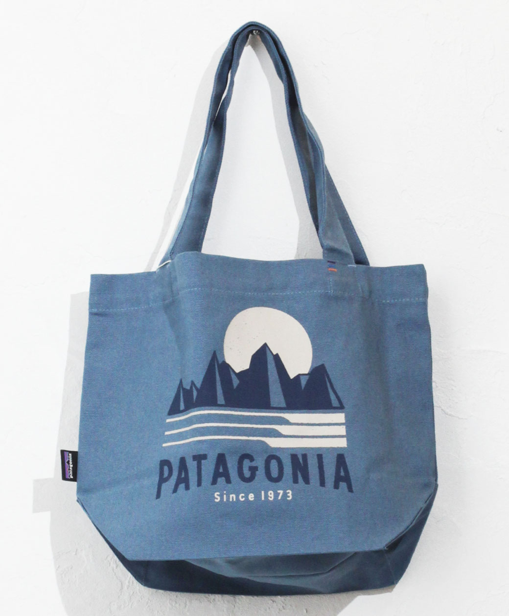patagonia Mini Tote(Tube View Pigeon Blue)