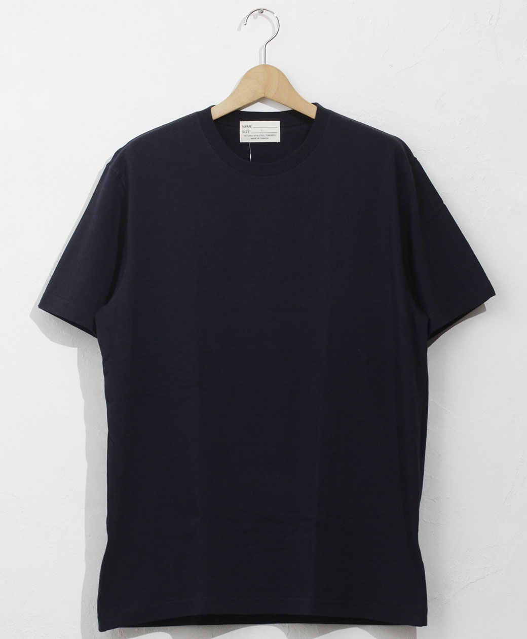 VICTORIA ATHLETICS CREW NECK TEE(M.NAVY)