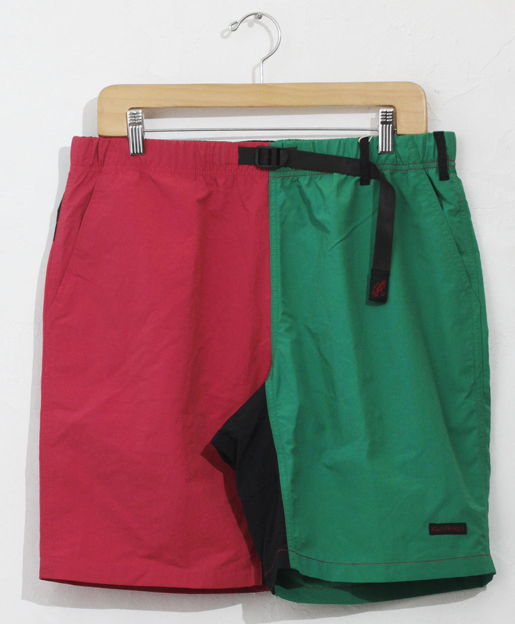 GRAMICCI SHELL PACKABLE SHORTS(RASPBERRY×KELLY)