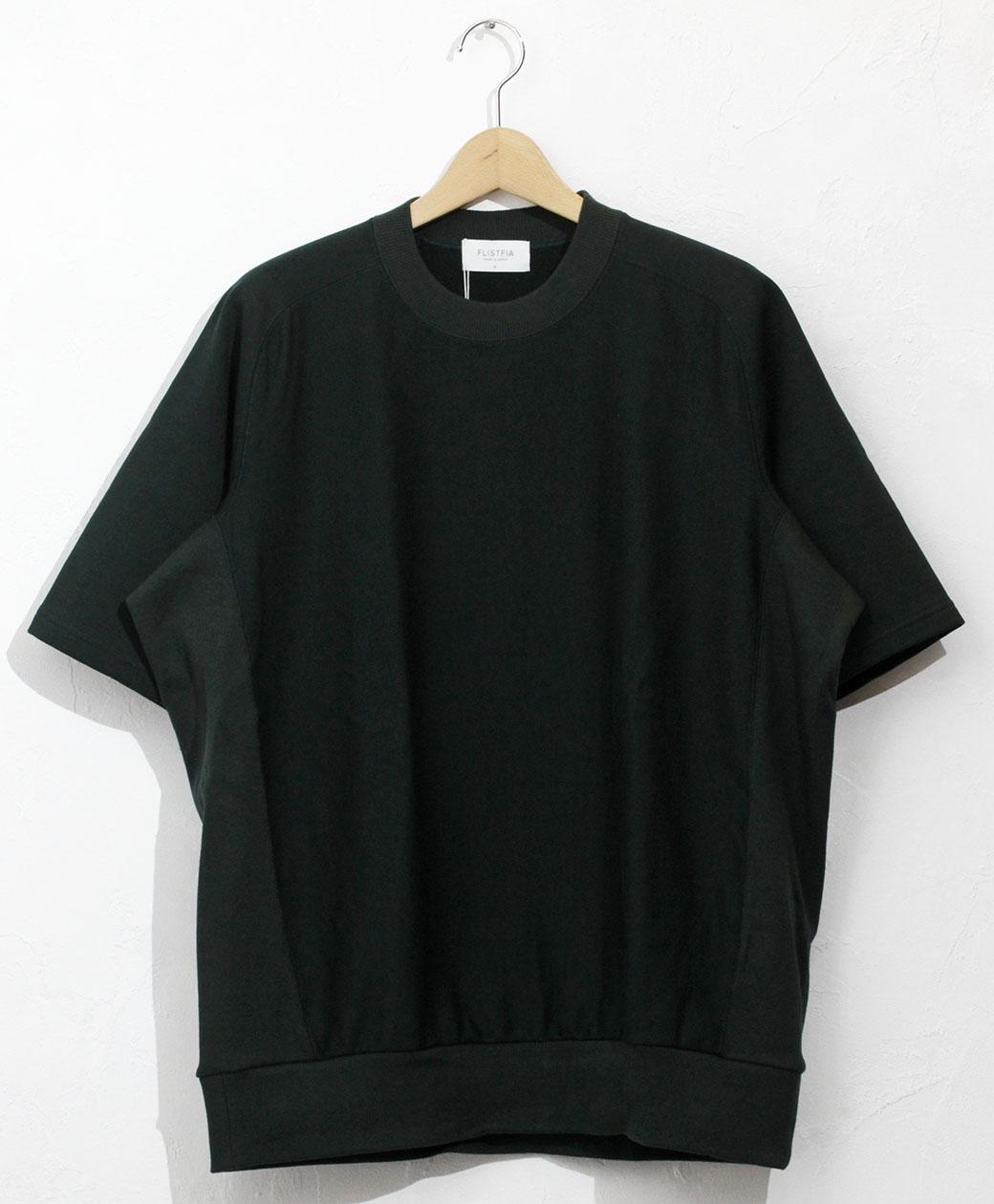 ※7/31(土)にて終了致します! 2021SS SALE! flistfia Vintage Side Rib S/S Sweat(Dark Green)