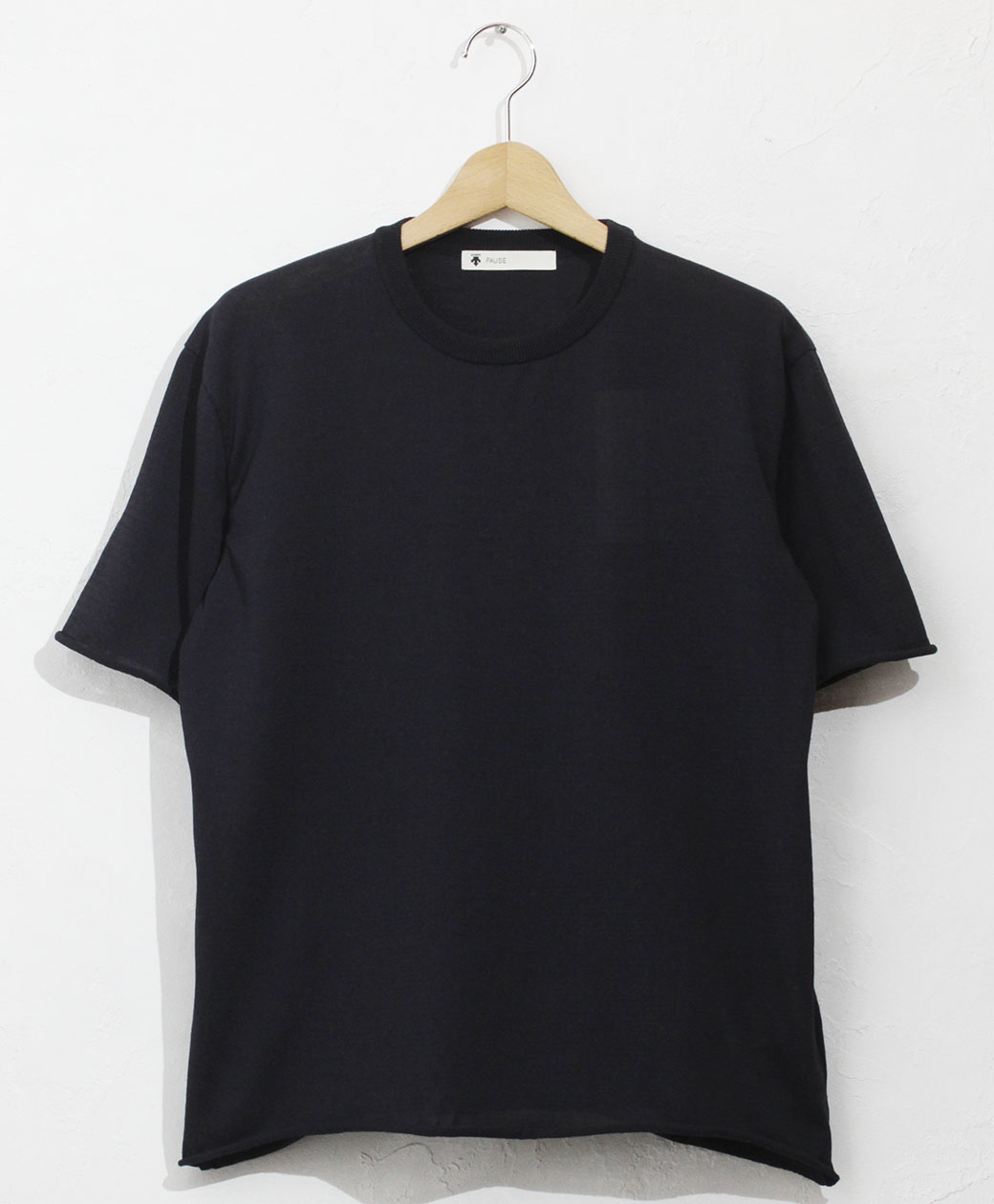 DESCENTE FIRACIS H/S PULLOVER(NVY)