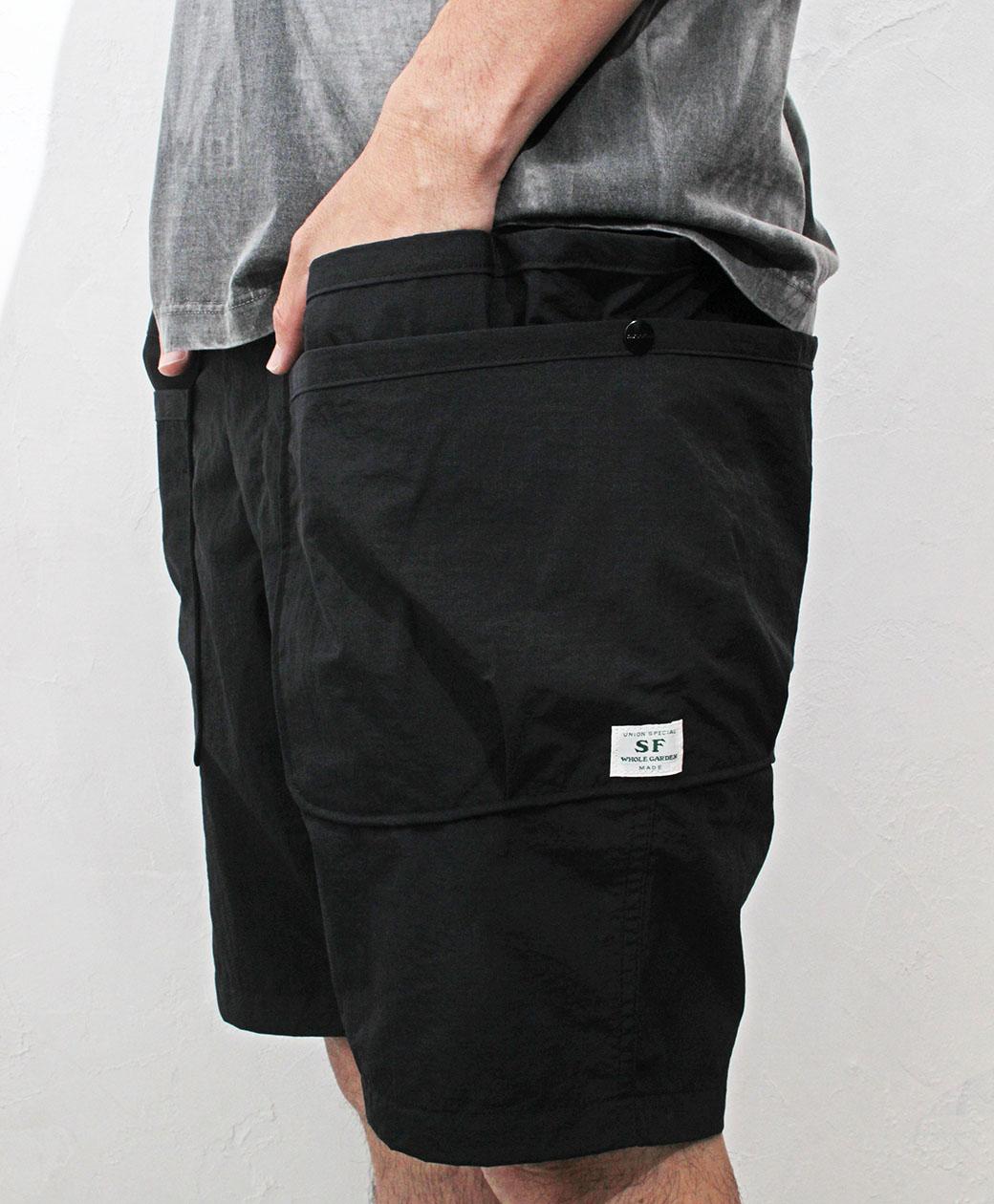 SASSAFRAS Whole Hole Pants 1/2(Nylon Ripstop)
