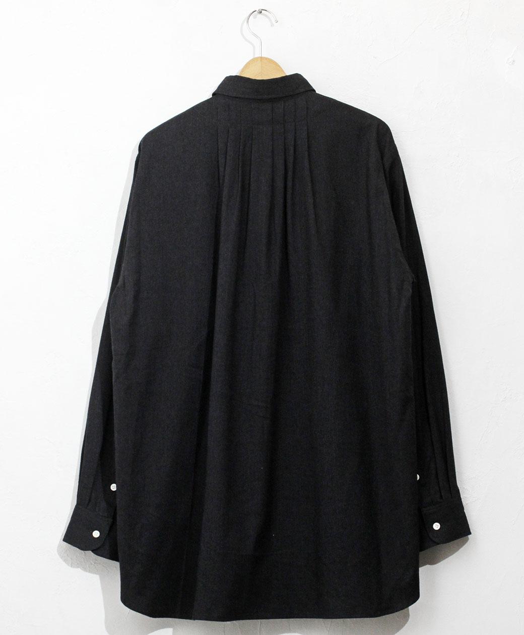 SUNNY ELEMENT Sleeping Shirt(Charcoal Herringbone)