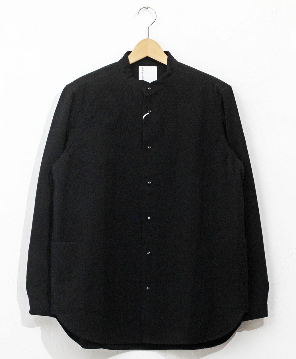 BRU NA BOINNE SCスナフシャツ(ブラック)