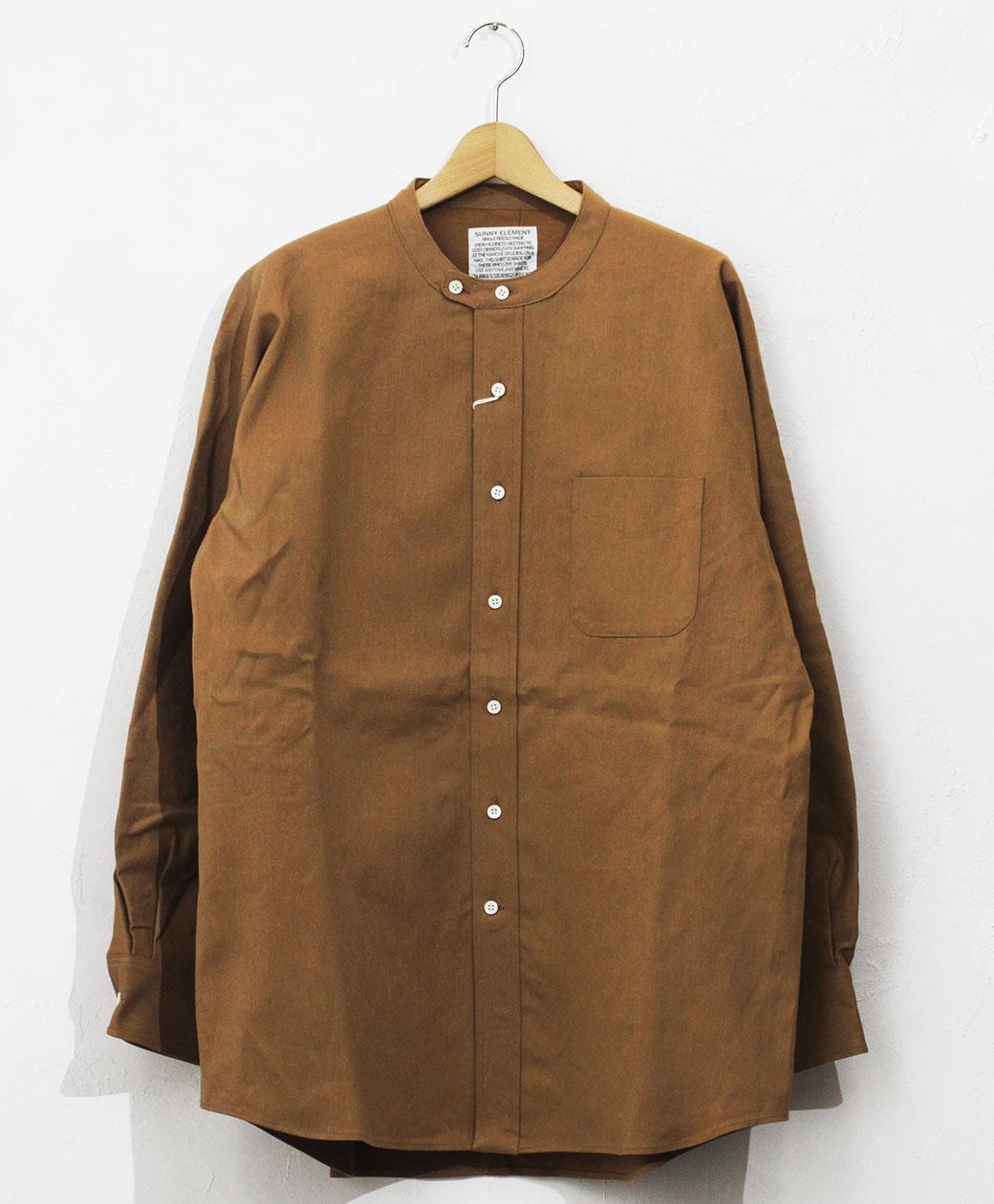 SUNNY ELEMENT Park Shirt(Camel)