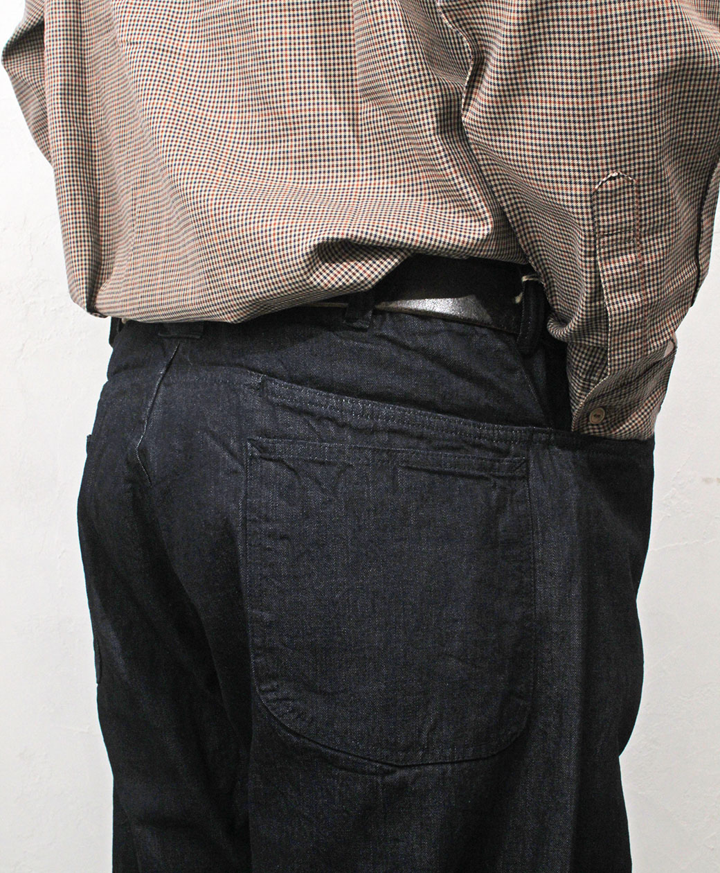 SASSAFRAS Secret Sprayer Pants(12oz Denim)