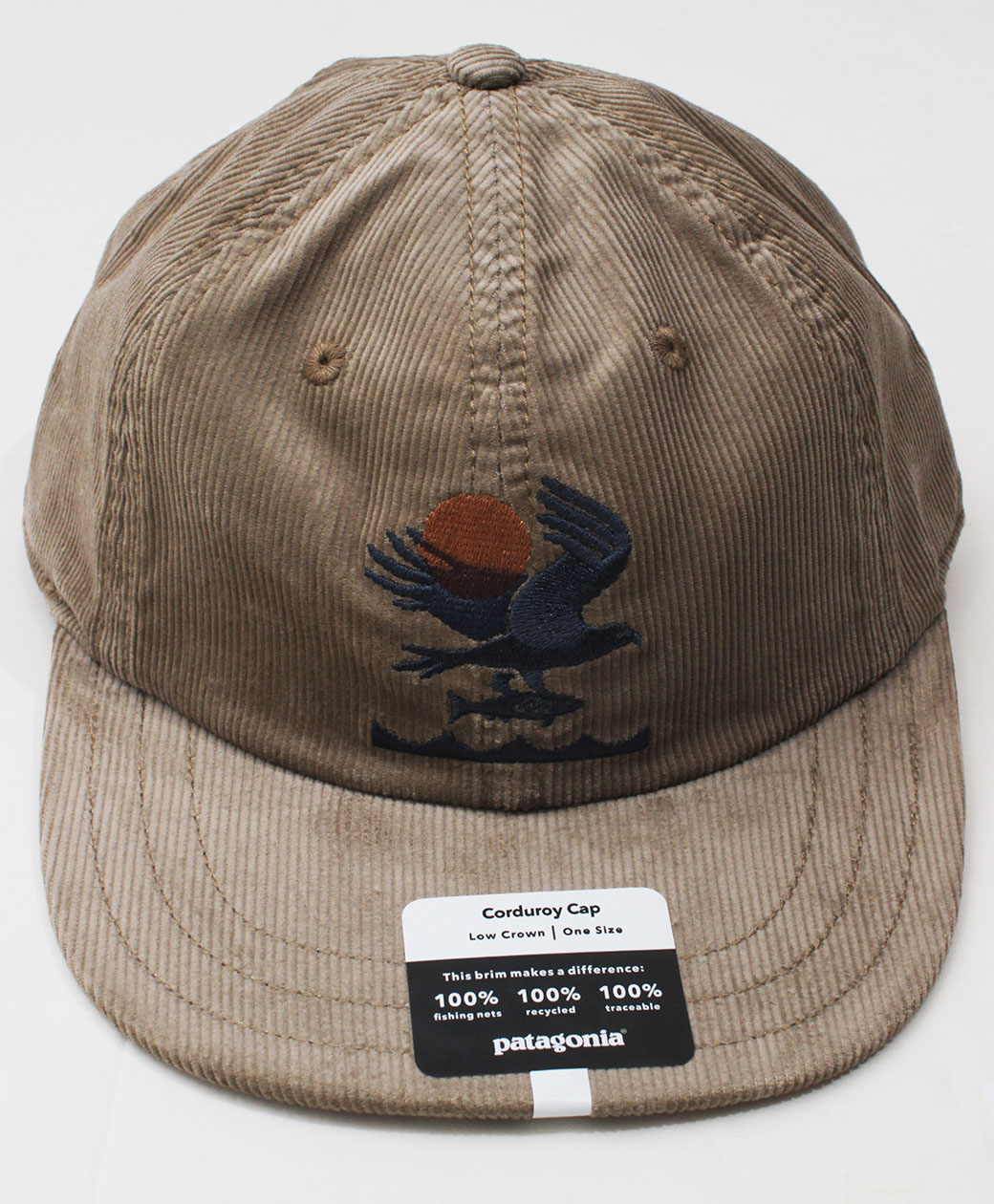 patagonia CORDUROY  CAP(Original Angler Mojave Khaki)