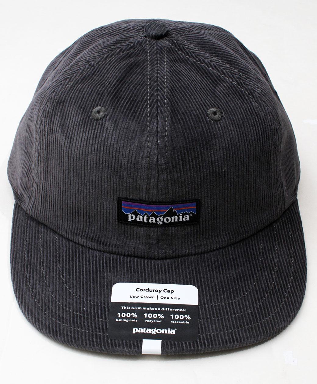 patagonia CORDUROY  CAP(P-6 Label Forge Grey)