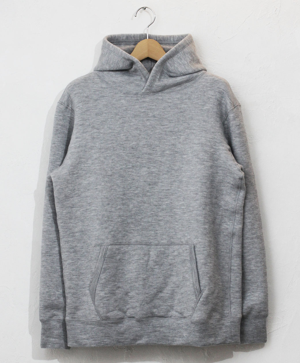 yetina pullover hoodie(heather gray)