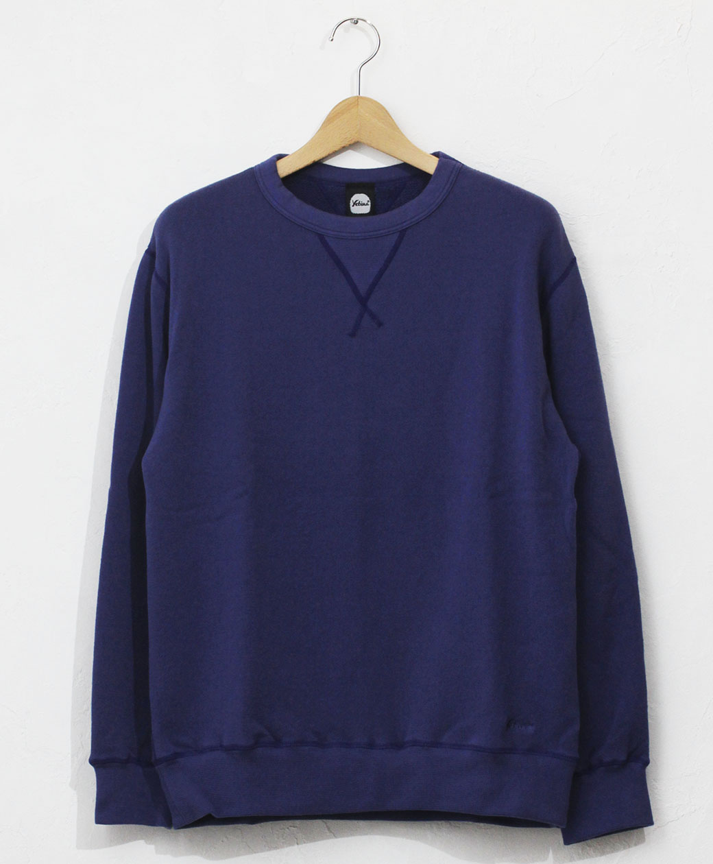 yetina Allseason cotton sweat shirt(cobalt blue)