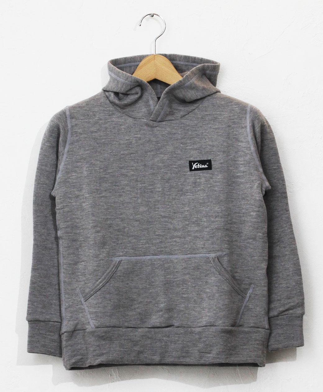yetina kids pullover hoodie(heather gray)